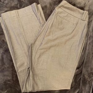 Gray Banana Republic Stretch Career Pants Size 10